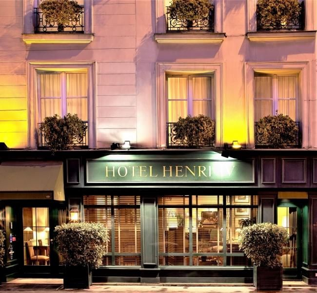 Hotel Henri IV - Exterior